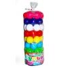 Кульки в тубусі 62шт діам 6см вакуум (50*18см) 0262 Бамсік