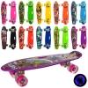 Скейт MS 0749-6 (10шт) пенни55-14,5см, колесаПУ свет, рисунок, разобр, 10вид, в кульке рис. 1