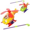 Каталка 0302 (48шт) вертолет24см,на палке,зв,вращ.винт,подвиж.глазки/язык,2цв,в кульке, 31-22-12см рис. 1