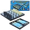 Шахматы MC 1178/8899 (36шт) магнитные, 3в1, пластик, размер поля 35-31,5см,в кор-ке, 32-18-5см рис. 1