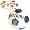 Мяч футбольный OFFICIAL 2500-176 (30шт) размер5,ПУ,1,4мм,32панели, ручн.работа,400-420г,3цвета,в кул рис. 1