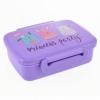 Контейнер для їжі YES Princess Party з роздільником 420 мл Фиолетовый (706830)