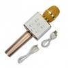 Микрофон Q7 аккум., USB, Bluetooth, микс цветов, футляр, 28-11,5-7 см