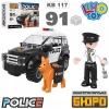 Конструктор полиция, машина 117 дет., KB 117