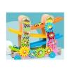 Деревянная игрушка Трек MD 2594 (10шт) машинки 4см 3шт, шестеренки, в кор-ке,30,5-26-10см рис. 1