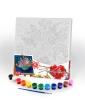 """Креативна творчість """"Розпис на полотні """"Canvas Painting"""" 31см*31см с.5 №8 букет рис. 1"""