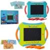 LCD планшет 2688-E-G (18шт) для рисования, 33см, 2цвета, бат-таб, в кор-ке, 33-25-5,5см рис. 1