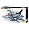 """Конструктор SLUBAN M38-B0891 """"Model Bricks"""": Військовий літак, 521 дет.  рис. 1"""