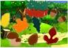 "*Развивающая игра из фетра ""Осенний лес"" - фото 1"