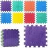 Килимок-мат масажний 6 текстур  (M 2630 EVA)