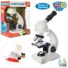 Микроскоп SK 0010 (12шт) 26,5см, свет,пробирки, инструменты, на бат-ке, в кор-ке, 20-27-13см рис. 1