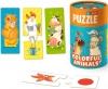 Пазл-игра DoDo Цветные животные 200100