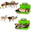 Животные 16098BC (288шт) от 11см, 2вида(дикие,домашние), 6шт в дисплее, 23-8-14,5см рис. 1