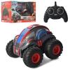 Машина 10091 (4шт) р/у2.4G, 22см, резин.колеса(надув), ездит по воде, на бат-ке,в кор-ке, 35-23-25см рис. 1