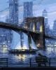 """Набір для розпису """"Мрії великого міста"""" 40*50 см рис. 1"""