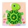 Дерев'яна іграшка Пазл 15X15-3 черепаха