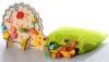 Деревянная шнуровка Ёжик с фруктами и овощами купить Киев Украина с доставкой