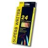 """Олівці 24 кольори шестигранні, Superb Writer,4100-24CB,TM""""Marco"""" рис. 1"""