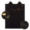 """Щоденник шкільний YES PU жорсткий """"Black cat"""" блінтове тиснення, фольга золото рис. 1"""