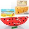 Деревянная игрушка Шнуровка MD 0494 (120шт) продукты, микс видов, от 8,5см, в кульке,12-18-5см рис. 1