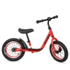 Біговел PROFI KIDS детский 12 д. M 4067A-1 (1шт) рез.колеса,метал.обод,выс.до сиденья 30-43см,красн рис. 1