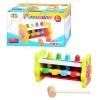 Деревянная игрушка Стучалка MD 0326 (64шт) молоточек, 2 вида, в кор-ке, 18-11-11см рис. 1