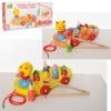 Деревянная игрушка каталка+рыбалка (MD 2164)