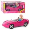 Кукла Defa в розовом кабриолете 8228