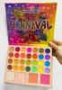 Палетка теней,румяна,хайлайтер  Carnaval CS-8877