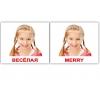 Комплект карточек Домана «Эмоции/Emotions» МИНИ 40 веселая
