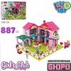 Конструктор-домик Limo Toy KB 101 домик 887 деталей