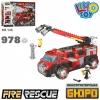Конструктор Пожарная машина KB 146 978 деталей