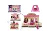Домик для мини куклы PS с мебелью и фигурками TM127