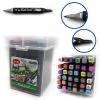 Набор маркеров для скетчинга Touch Cool 36 цветов ()