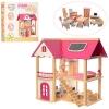 Деревянный домик Pink House