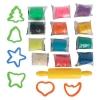 Тесто-пластилин 12 цветов в боксе Genio Kids