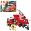 Конструктор Qman 2807 Fire rescue Пожарная техника