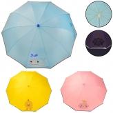 Зонт детский UM5474 (60шт) с прозрачным окошком, светоотражающая лента, 3 вида, р-р трости – 64 см, рис. 1