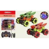 Машина аккум ру  Z885A+(12шт)BIG FOOT, боковая езда,2 цвета, в кор. 45.5*7*39 см, р-р игрушки – 20. рис. 1