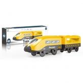 Поезд AU9886 (144шт) локомотив,1вагон, 22см,магнит.крепление,на бат-ке, в кор-ке, 27-8-5см рис. 1