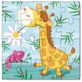 Жирафа. Простий пазл 21х21см, 16дет. (Dodo 300163) рис. 0