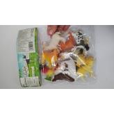 Животные A012 (108шт2) в пакете 21*28*2.5см рис. 1