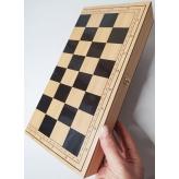 Шахматы 820 (36шт2) 3 в1,в кор 39*19*4,5 рис. 1