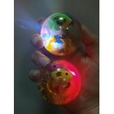 Мяч попрыгунчик свет + 2 рыбки (BT-JB-0034)