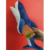 """М`яка іграшка """"Акула Брюс 01/3"""", Копиця 25015-3, l37"""