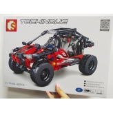 Игровой набор-конструктор 701404 Sembo Block Квадроцикл ATV