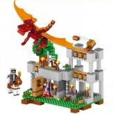 Конструктор LELE Minecraft Червоний дракон (33027)