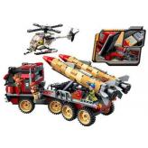 "Конструктор Qman 3207 ""Thunder Mission"", 661 дет."