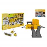 Набор автопаркинг с грузовыми и строительными машинами - фото 2