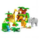 Конструктор Зоопарк JDLT 5286 83 детали